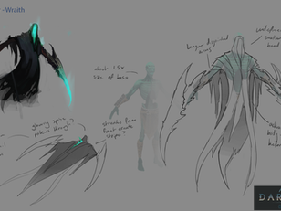 Early Concepts - Defining the world of Age of Darkness