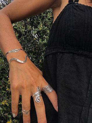 Bracelet vagues argent 925