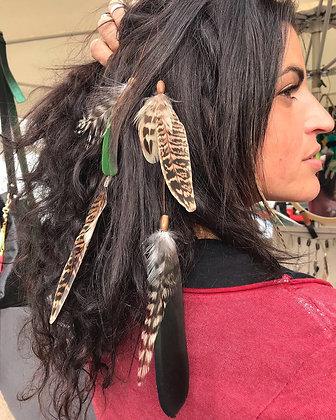 Clip pour cheveux , l´ Indien