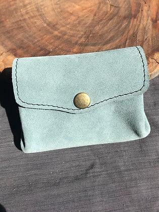 Porte-monnaie 3 en 1 bleu clair