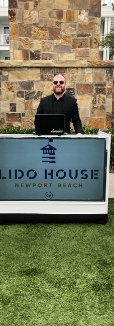 Lido House 1 Year Anniversary with Aloe Blacc