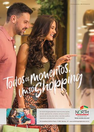 """""""Várias Versões de você"""" é o slogan da Nova campanha North Shopping Barretos"""