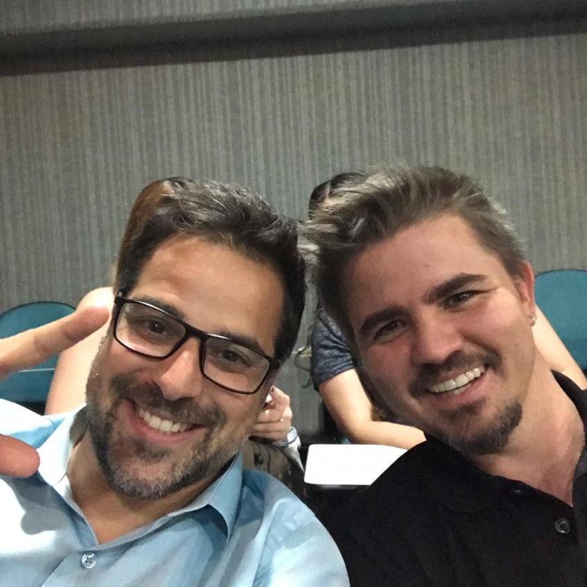 Daniel Goraieb e Kauê Luz