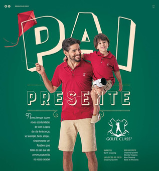 Pai Presente é o tema da Campanha para a Golfe Class