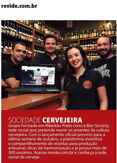 NA MÍDIA | Bier Society