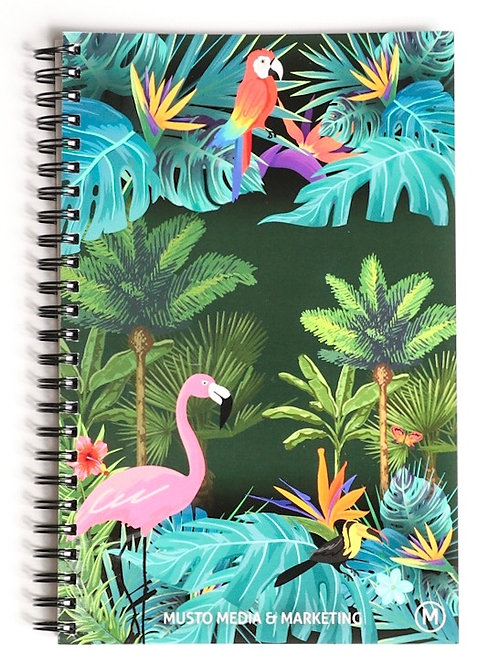 MMM Notebook Green