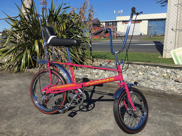 BMX Restoration Pink Chopper