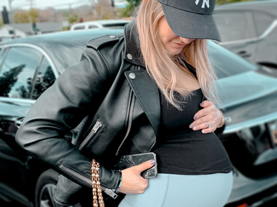 HOW I STYLED MY BUMP
