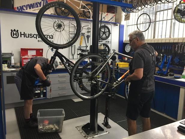Bicycle Service Workshop