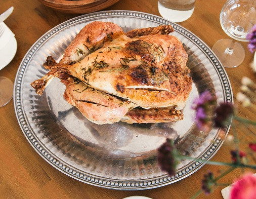 Roast Chicken Photo by Gabriel Garcia Marengo on Unsplash