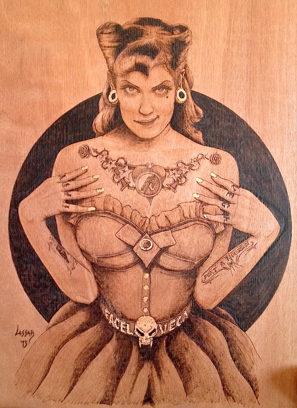 "Pin Up ""Lady Véga"""