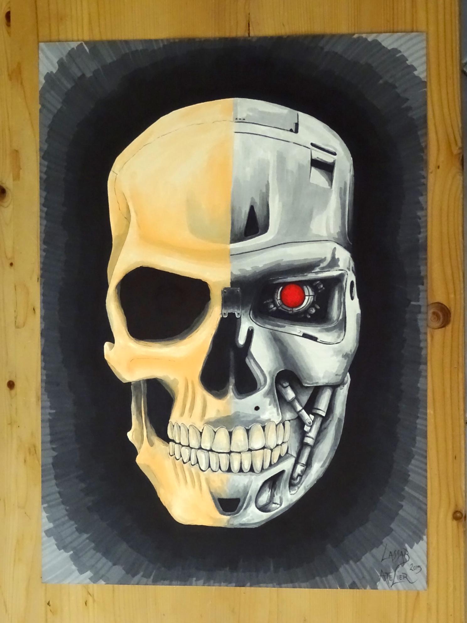 Skull/Terminator