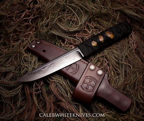kwaiken-handmade-knives-japanese-habaki-