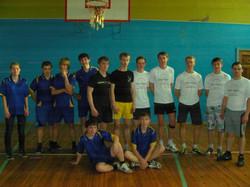 Товарищеская встреча по волейболу с молодеж. объединением Мой город апрель 2014.