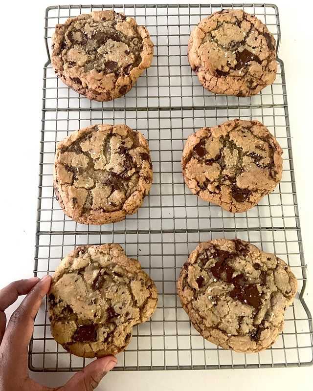 Chocolate chunk cookies will forever rei