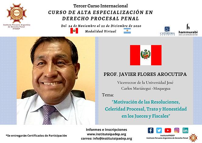 Afiche Javier Flores Arocutipa.png