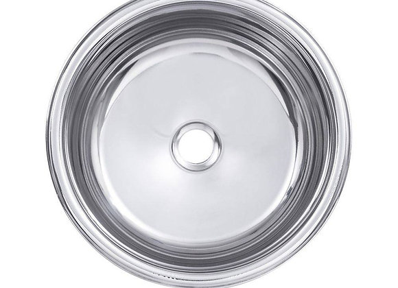 cuba redonda de 25 cm furo 2, 1/2, (DxP) 250x140mm C/ válvula Grátis