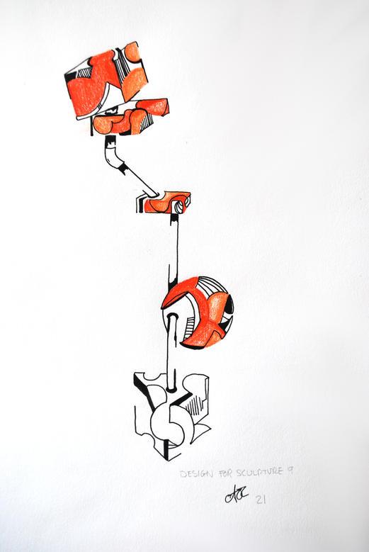 Design For Sculpture 9