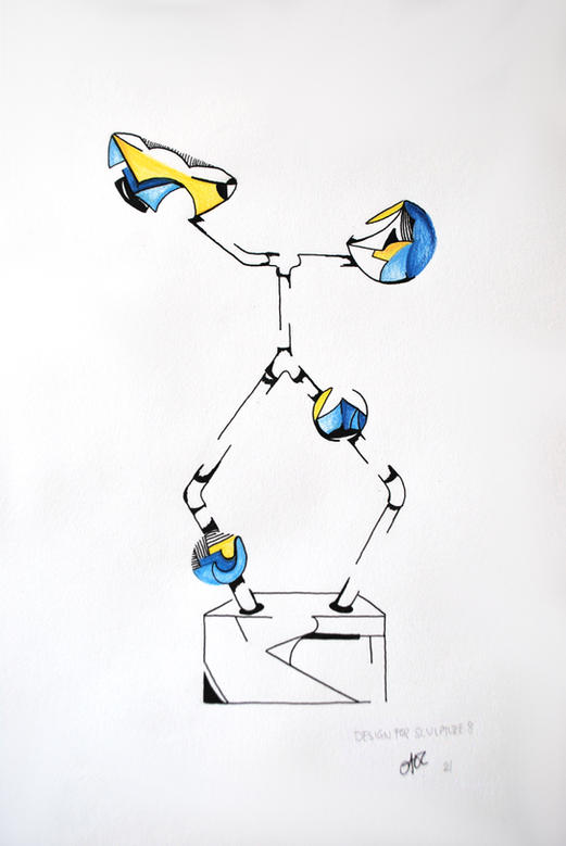 Design For Sculpture 8