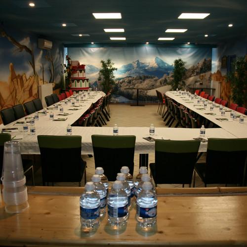 Salle privative pour les réunions