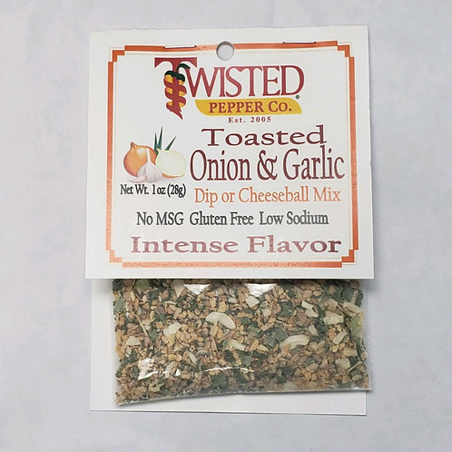 Twisted Pepper Co. Toasted Onion & Garlic Dip