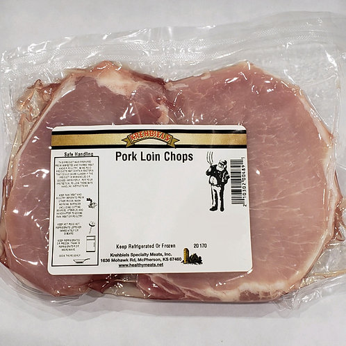 Pork Loin Chops (2 per pkg.)-(10-14 Oz.)