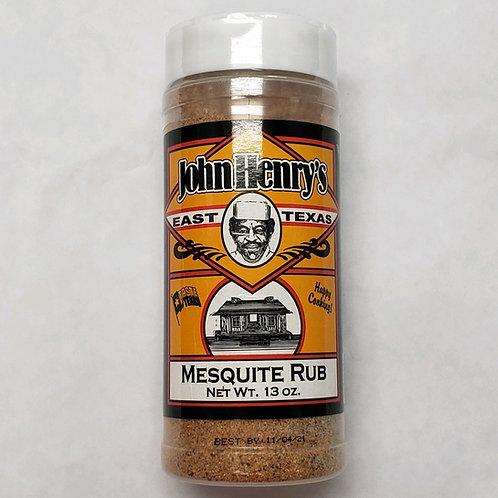 John Henry's Mesquite Rub Seasoning