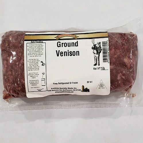 Ground Venison