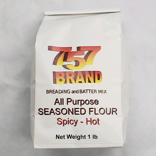 757 Brand All Purpose Seasoned Flour-Hot