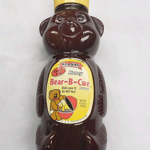 Knackies Sweet Fire Honey Bear-B-Cue