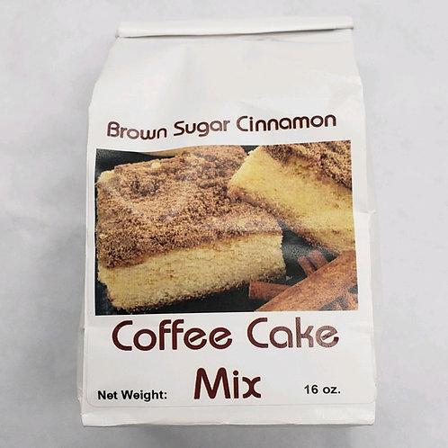 Brown Sugar Cinnamon Coffee Cake Mix