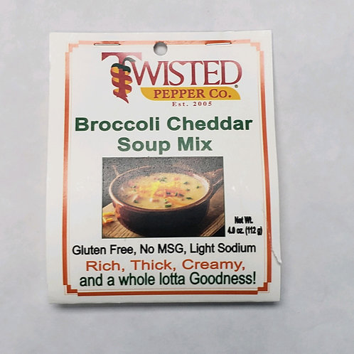 Twisted Pepper Co. Broccoli Cheddar Soup Mix