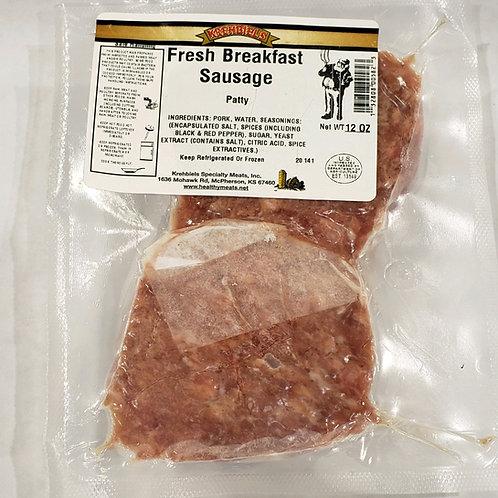 Fresh Breakfast Sausage-Patties