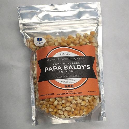 Pappa Baldy's Popcorn-12 Oz.