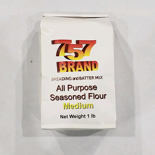 757 Brand All Purpose Seasoned Flour-Medium
