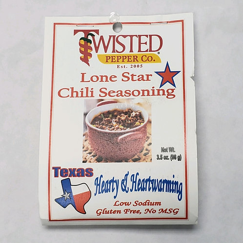 Twisted Pepper Co. Lone Star Chili Seasoning