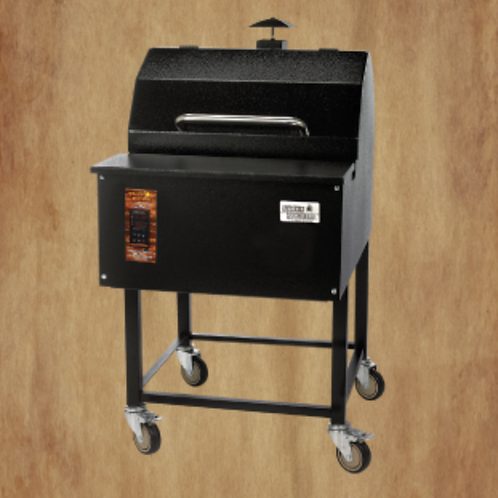 """Smokin Brothers Premier 24"""" Grill with PID Program Controller"""