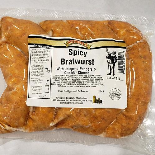 Spicy Sausage Brats