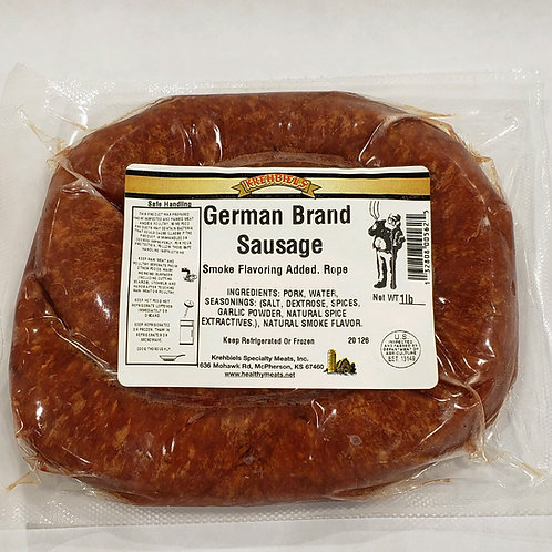 German Sausage-Rope
