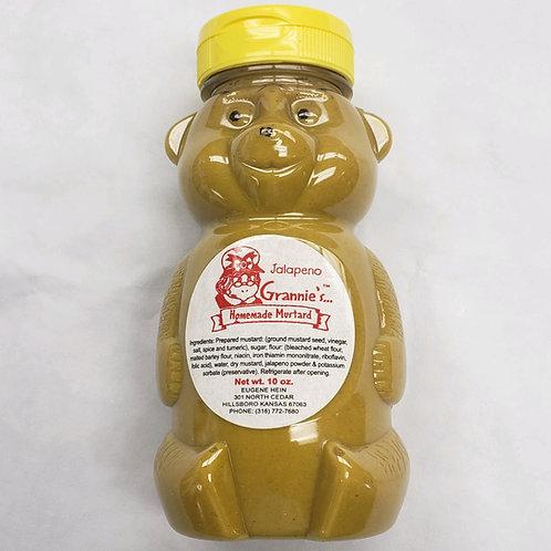 Grannie's Homemade Mustard-Jalapeno