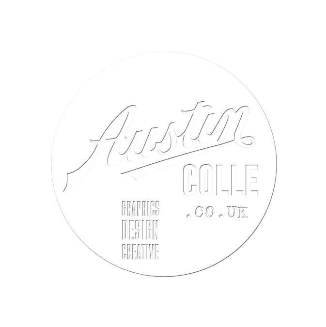 Austin Colle in a Circle wording trixie