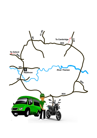 Map M25 Lee Robinson van and map.png