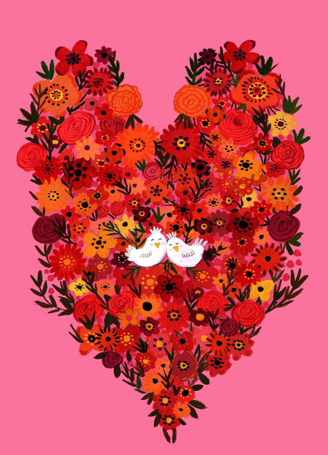 Love Birds- Kay Widdowson
