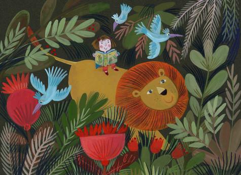 Jungle Ride - Kay Widdowson