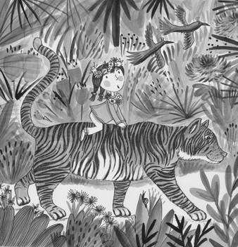 Tiger Ride - Kay Widdowson
