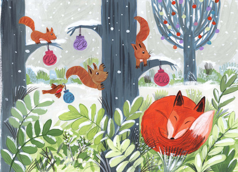 Winter fox - Kay Widdowson