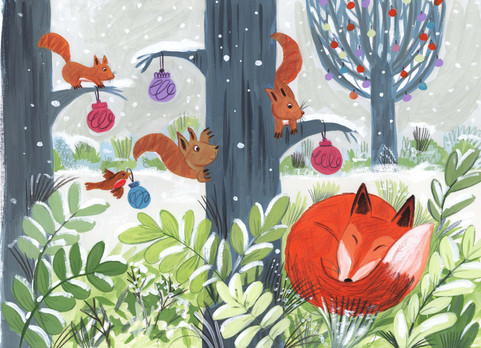 Winter fox - Kay Widdowson