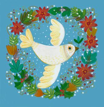 Christmas Dove - Kay Widdowson