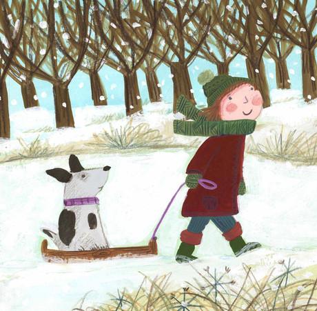 Snow Ride- Kay Widdowson