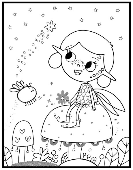 The Best Fairy Colouring Book In The World